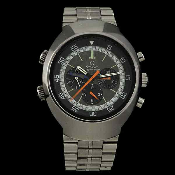Omega Flightmaster Chronograph Watch Omega