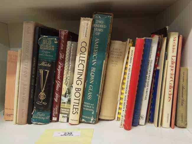 Lot misc. antique reference books mostly