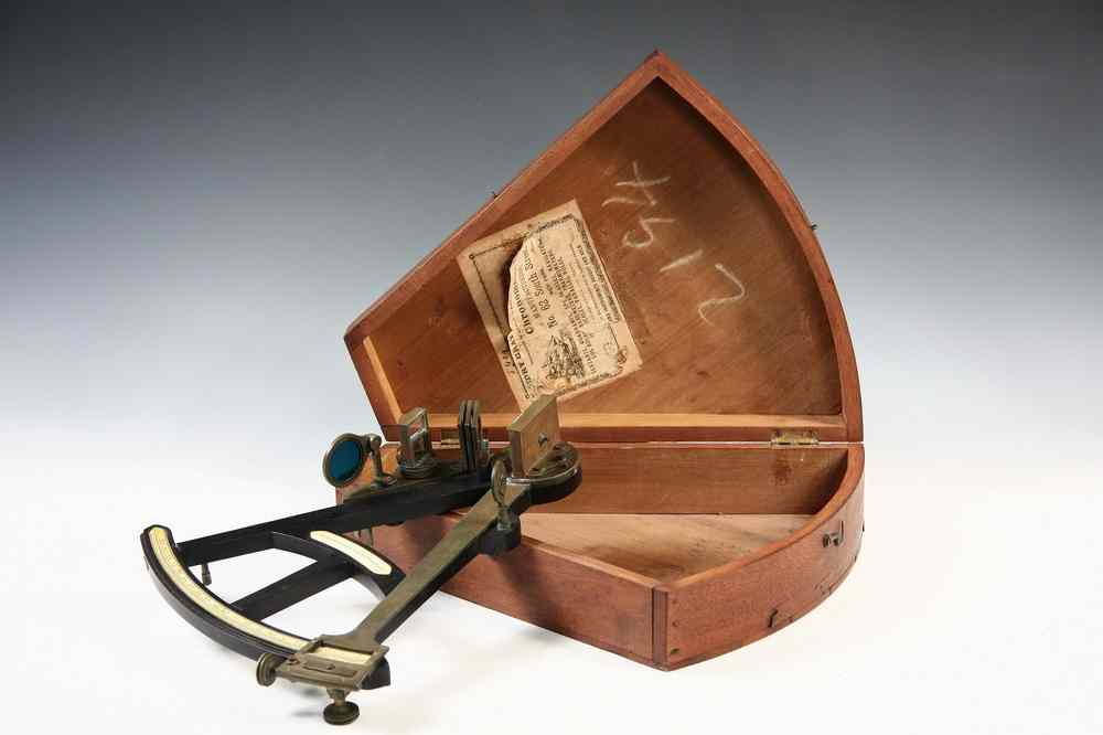 ENGLISH SEXTANT - 19th c English Sextant