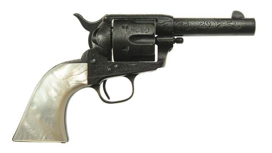 EXTREMELY RARE FACTORY ENGRAVED COLT SGL