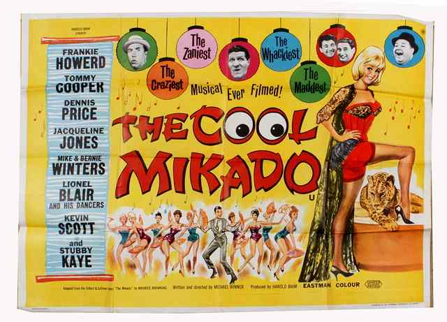 Image result for the cool mikado 1963""