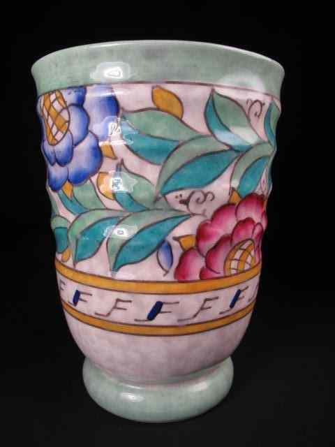 Price Guide For A Crown Ducal Ware Art Deco Pottery Vase