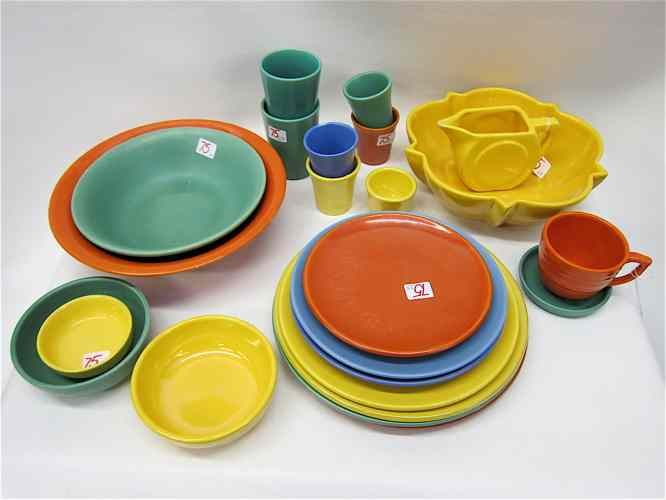 23 PIECE CATALINA & OTHER ASSEMBLED POTTERY