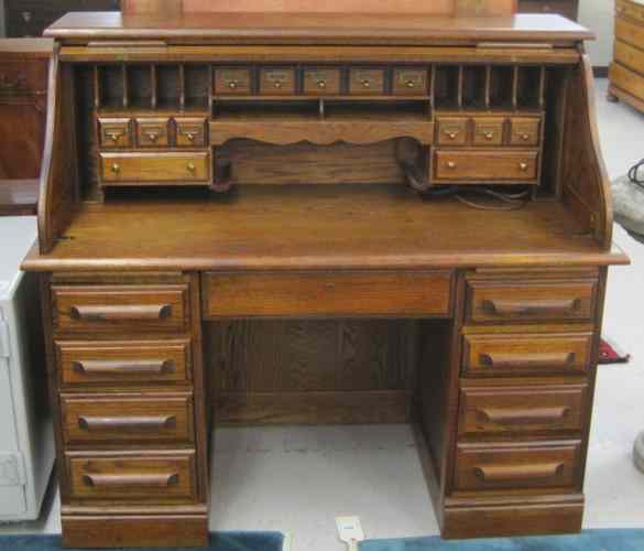 Oak Creek By Riverside Roll Top Desk Desk Design Ideas