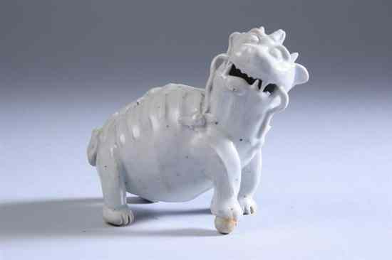 CHINESE QINGBAI PORCELAIN FU LION-FORM WATER