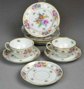 Price guide for 391  A Lot Of Dresden Porcelain Plates Cups