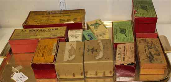 A collection of fourteen boxed Britains and