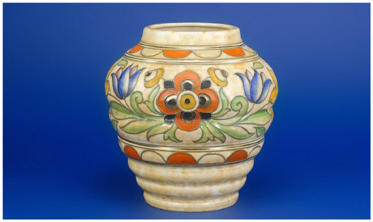 Price Guide For Crown Ducal Charlotte Rhead Vase Designed