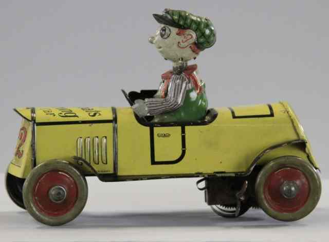 DISTLER ''WHAT'S WRONG'' CAR Whimsical lithographed