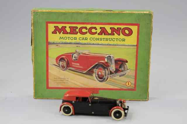 MECCANO CONSTRUCTOR CAR WITH BOX England