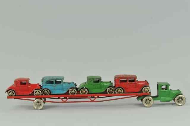 ARCADE MODEL ''A'' CAR CARRIER c. 1931 cast