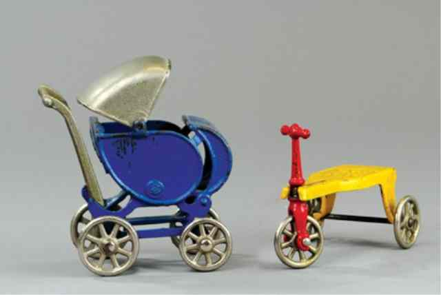 KILGORE CARRIAGE AND CHILD'S KID'S KAR Both