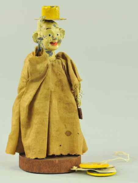 a /YELLOW KID TOY FIGURE Very rare late 1800's