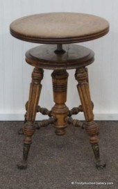 Pleasing Price Guide For An Antique Piano Stool On Ball And Claw Feet Ibusinesslaw Wood Chair Design Ideas Ibusinesslaworg