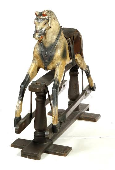 ****ROCKING HORSE BY BAXENDALE.  England,