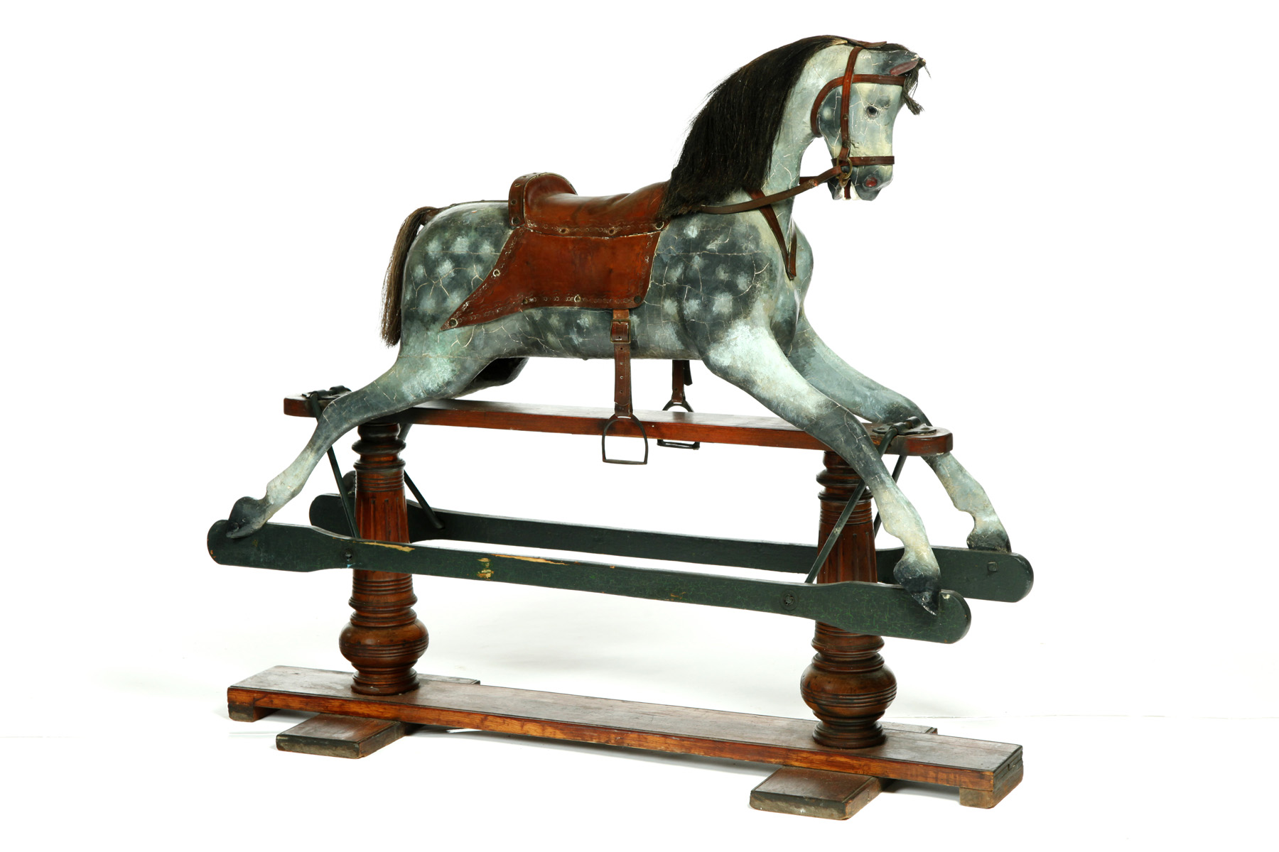 ROCKING HORSE.  Germany, late 19th-early