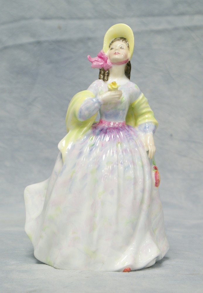 Price guide for Royal Doulton Clare figurine, HN 2793, 8