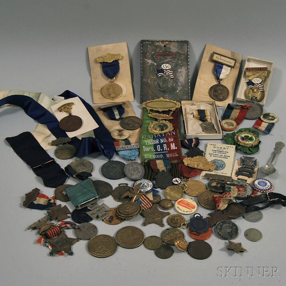 Group of Assorted Medals and Ribbons, with