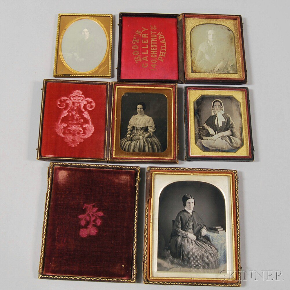 Half-plate and Four Quarter-plate Daguerreotype