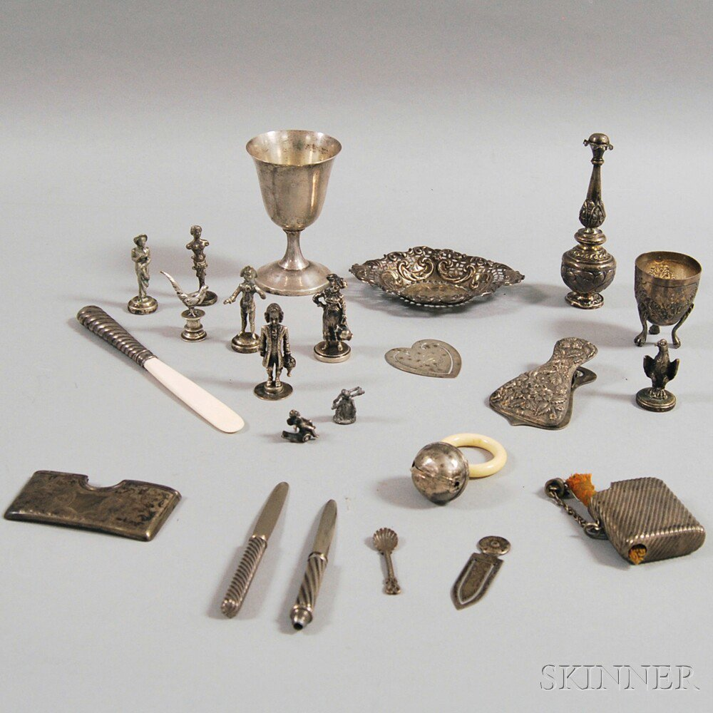 Miscellaneous Group of Sterling Silver and