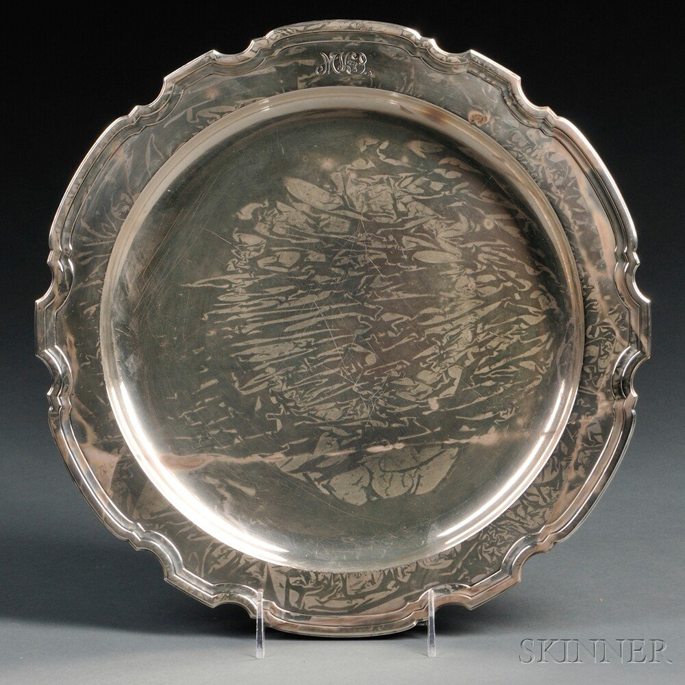 Tiffany & Co. Sterling Silver Platter, New