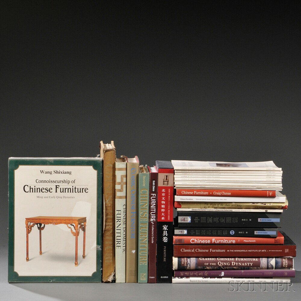 Thirty Publications on Chinese Furniture,