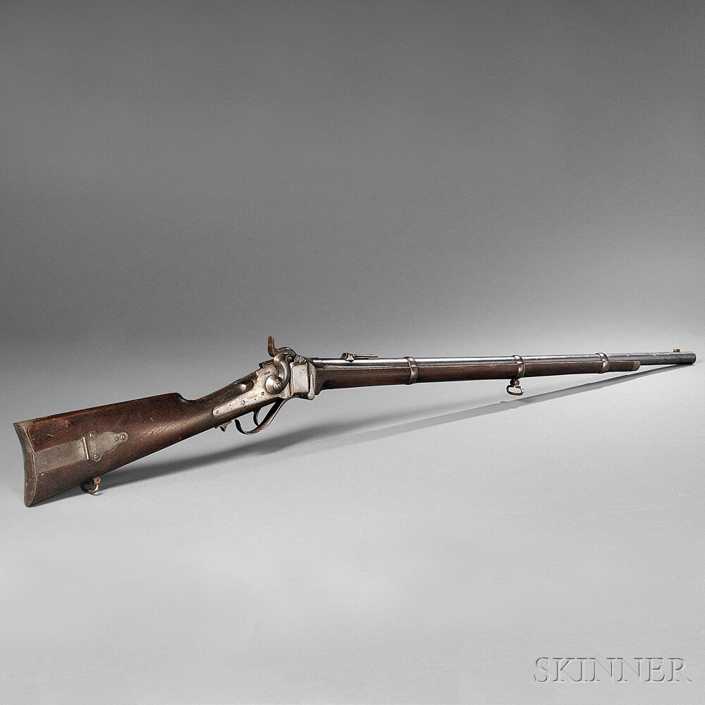 Sharps New Model 1863 Rifle, c. 1865, serial
