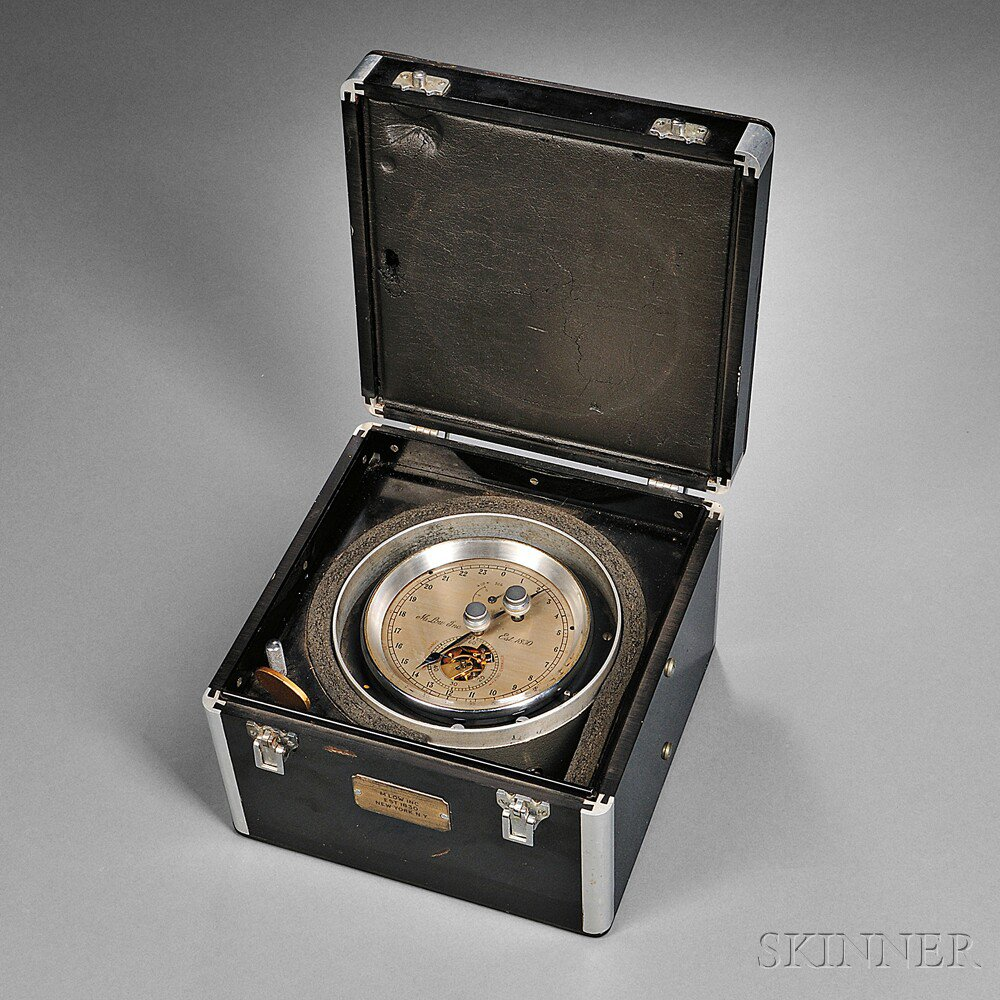 M. Low Two-day Break-circuit Marine Chronometer,