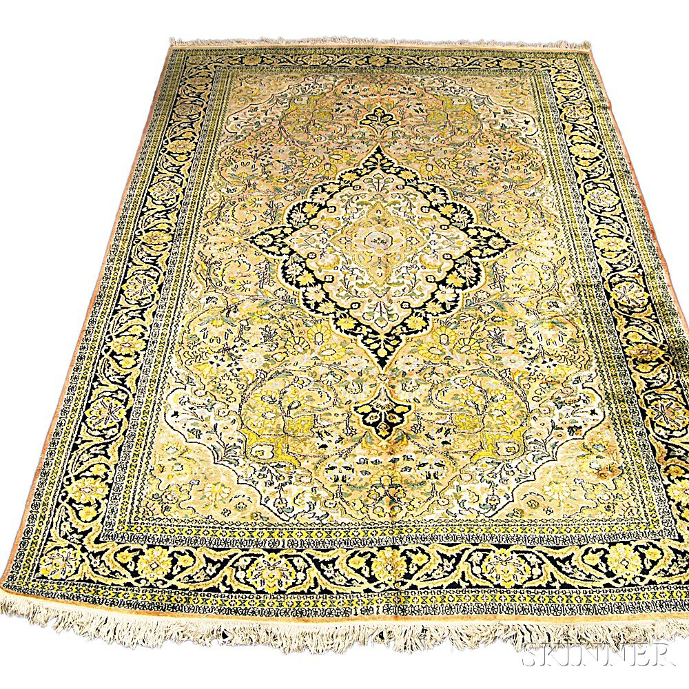 Indian Oriental-style Carpet, contemporary,