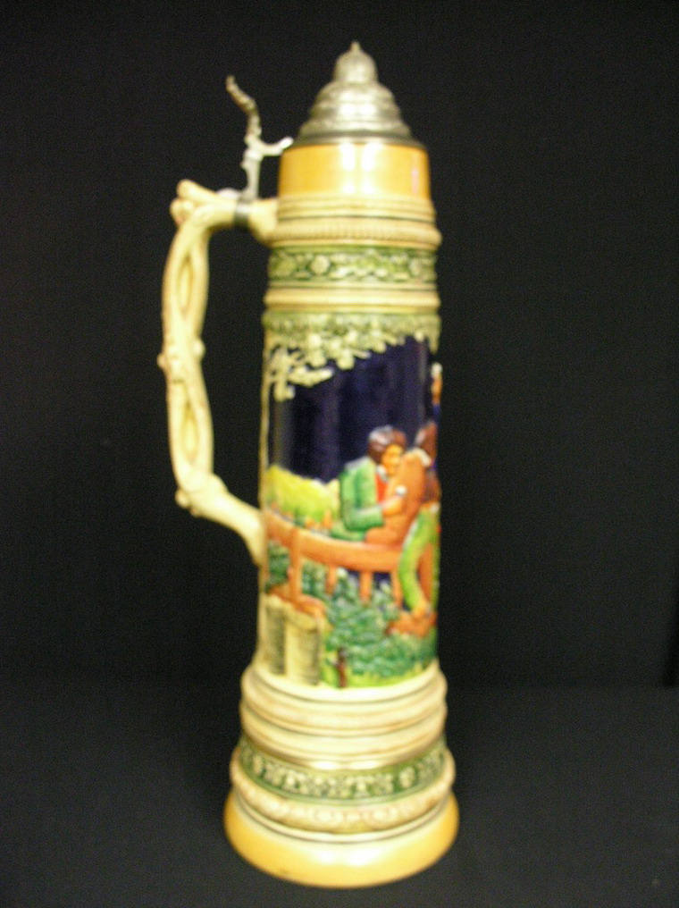 Price Guide For 5 Liter German Beer Stein 24 Quot H Impressed