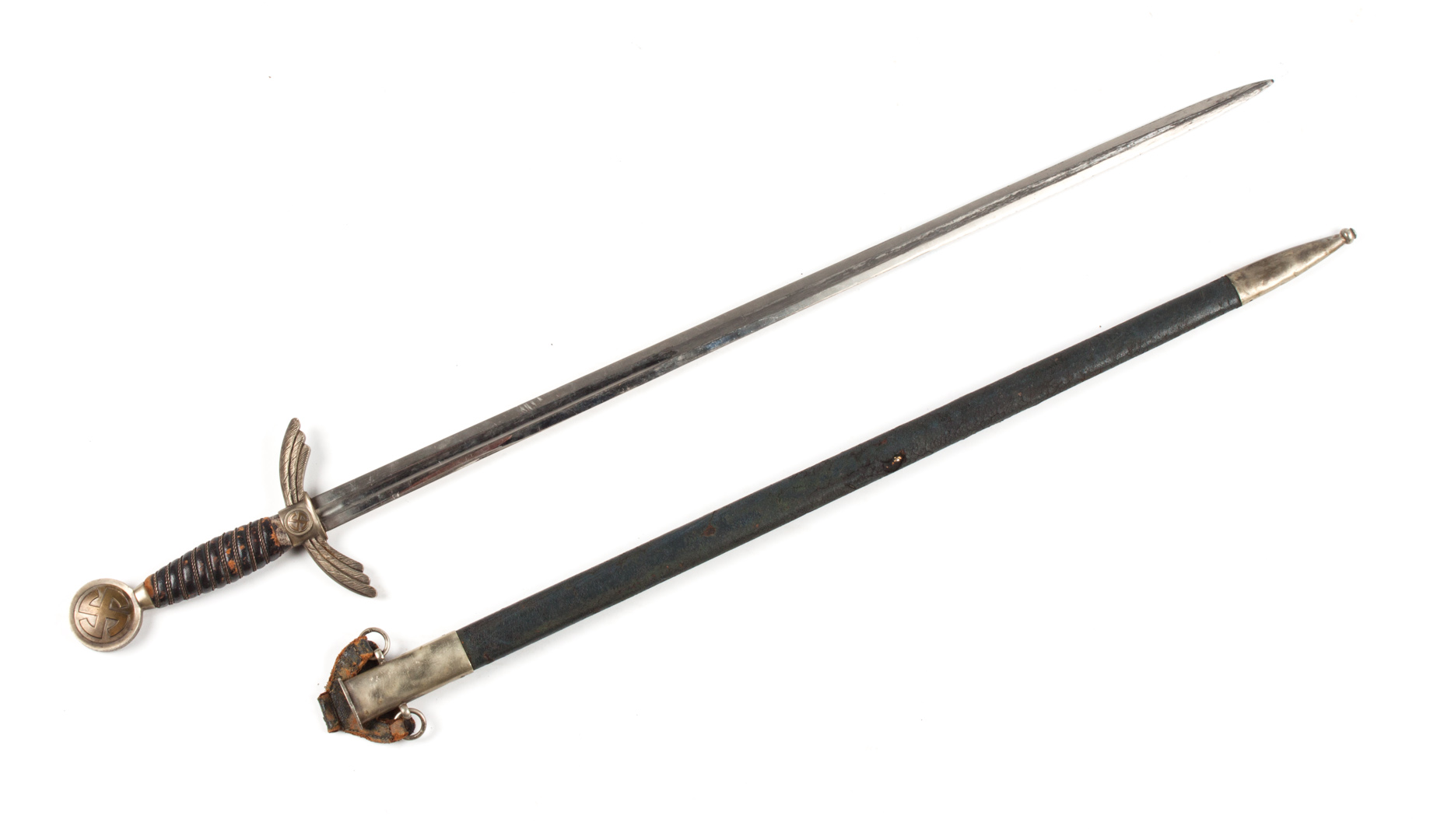 German Luftwaffe officer's sword and scabbard