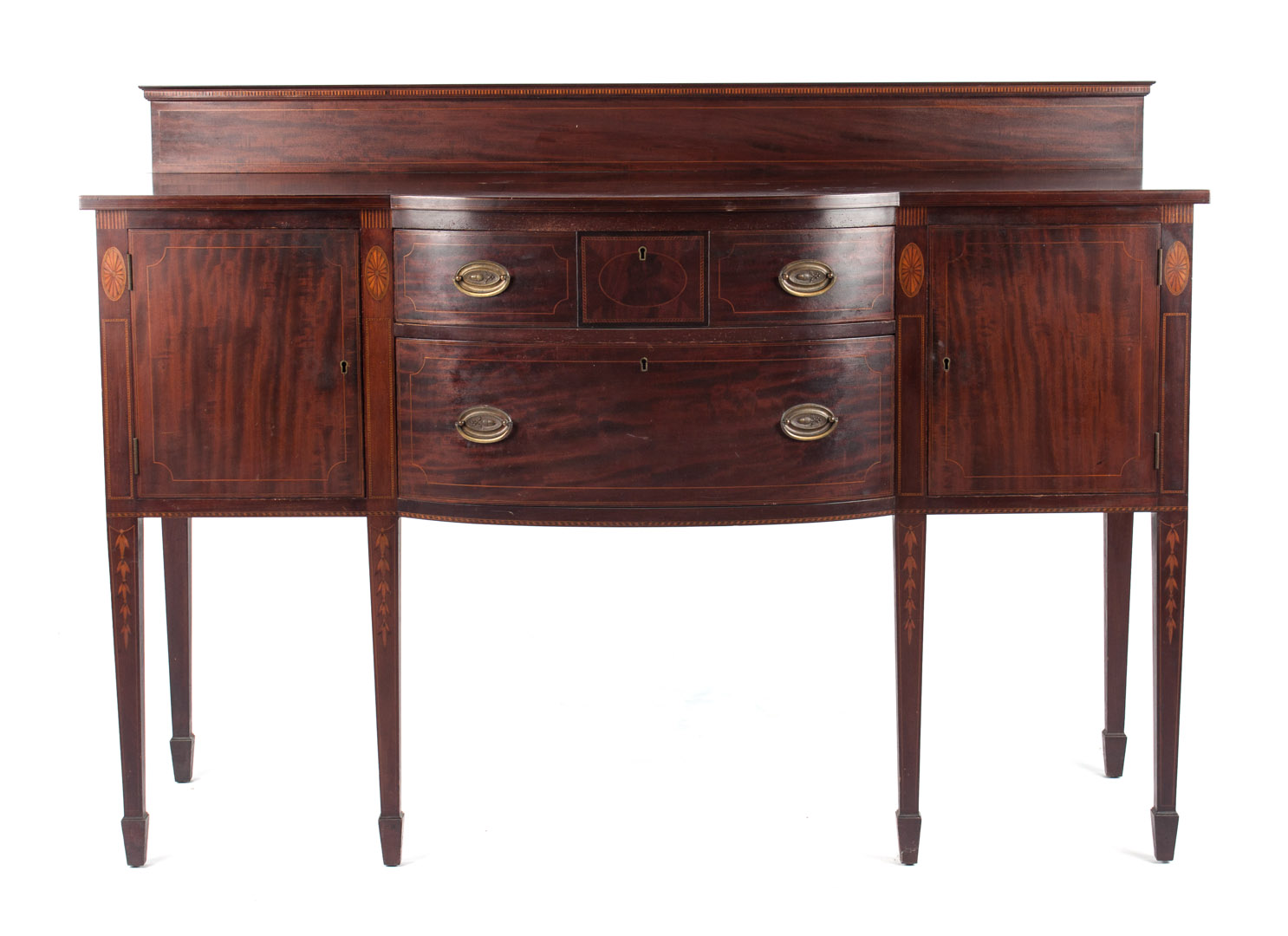 Potthast Bros. Federal style mahogany sideboard