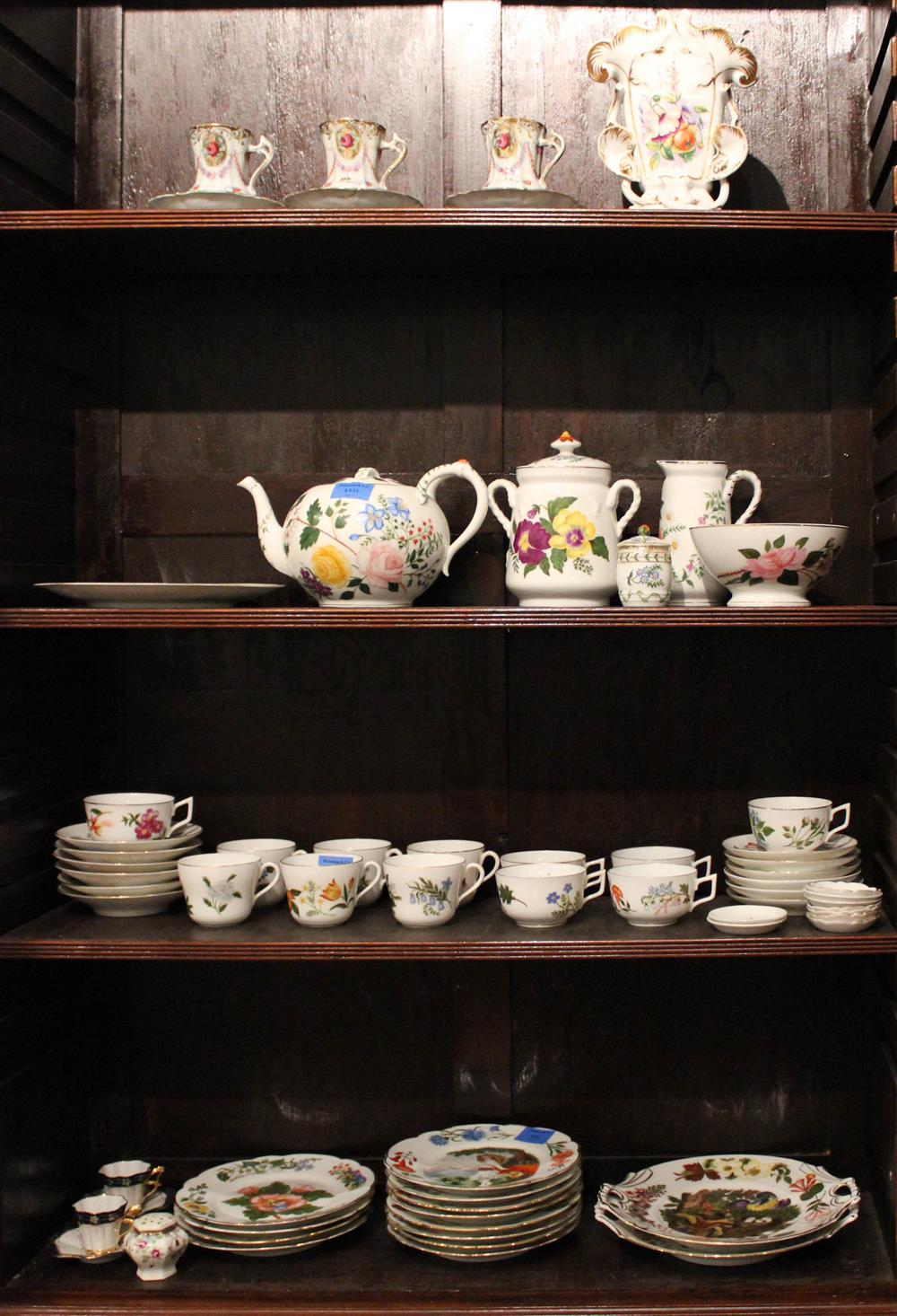 COLLECTION OF HANDPAINTED CERAMICS BY MARGARET