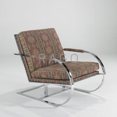 MILO BAUGHMAN; THAYER COGGIN; Lounge chair,