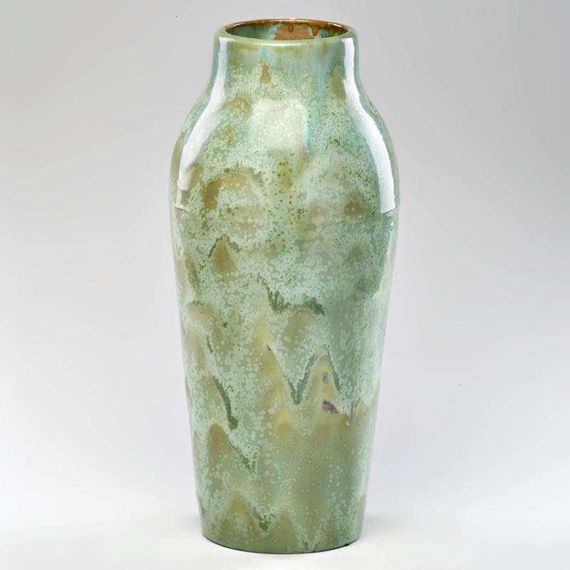 Price Guide For Fulper Vase In Leopard Crystalline Glaze