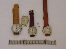 83 (4) men's; chronograph with 45min register