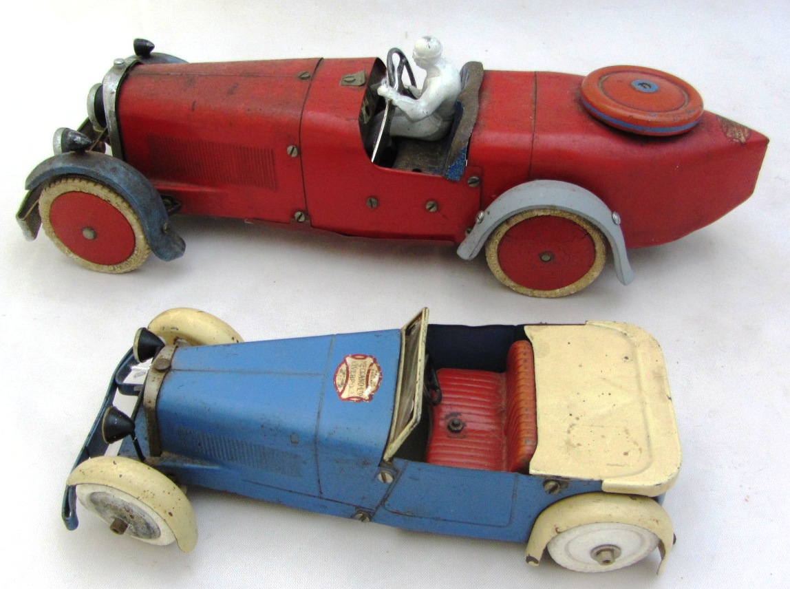 A Meccano tinplate constructor car No 2,