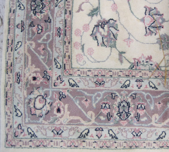 A CONTEMPORARY HAND KNOTTED ORIENTAL CARPET,