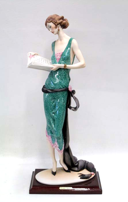 Price Guide For Florence Porcelain Figurine By Giuseppe Armani