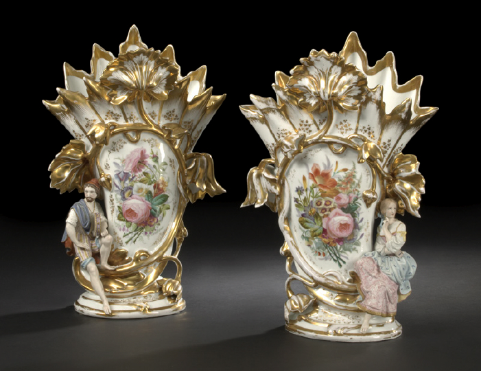 Large, Fine and Rare Pair of Early Haviland,