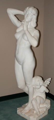 Late th/ Early th c. Italian Marble Sculpture Full-size