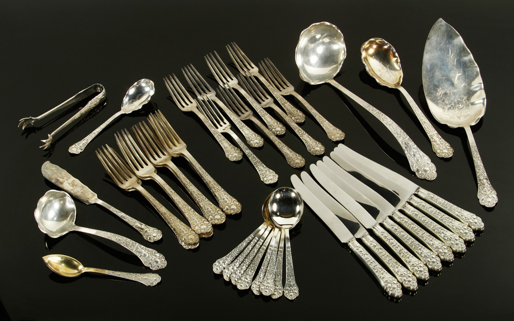 "4017 - Gorham ""Old Medici"" Sterling Flatware"