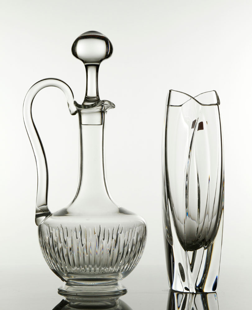 6312 - Baccarat Cut-Crystal Decanter and