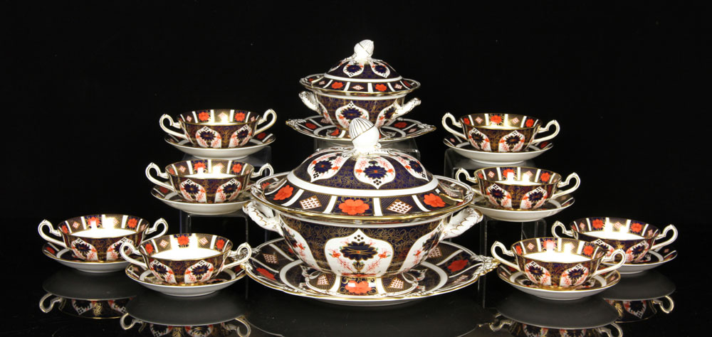 2085 - 18 Royal Crown Derby Items  		Lot