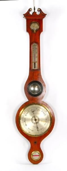 3024 - Antique English Barometer  		Antique