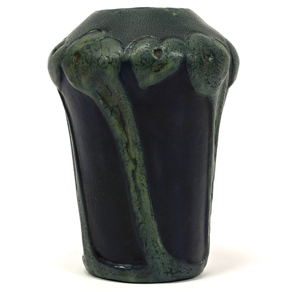 Price Guide For Rare Pewabic Pottery Arts Crafts Vase Carved