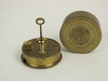 SEXTANT - 19th C rare brass, pocket sextant,