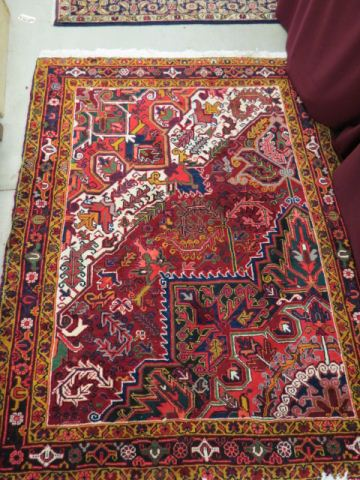 Heriz Persian Handmade Rug,interesting designs,