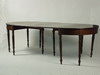 DINING TABLE - Two part Sheraton period drop