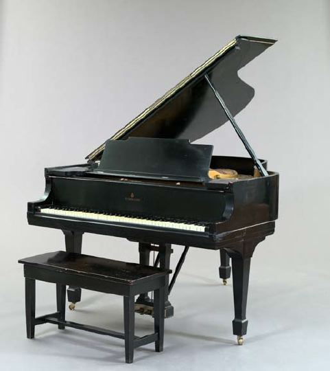 Steinway and Sons, New York, Ebonized Baby